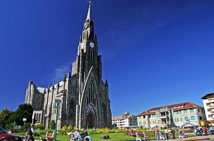Resultado de imagem para catedral de pedra  no rio grande do sul